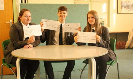 School Raising Funds for Local Charities