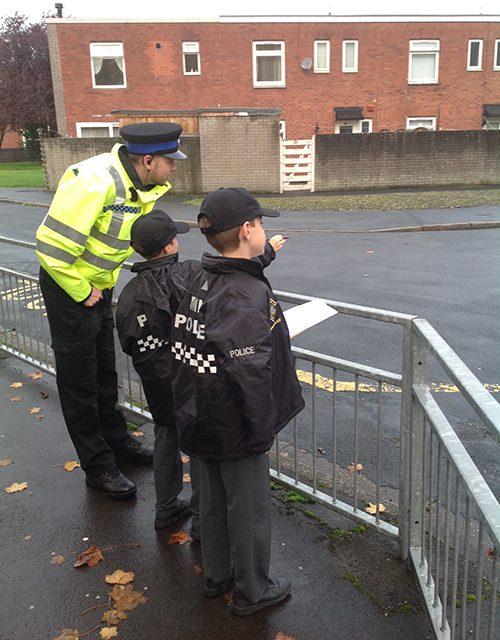 Mini Police on Patrol