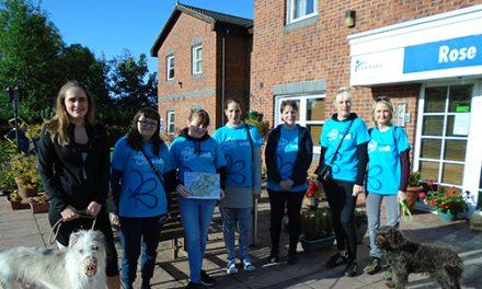 Alzheimers Memory Walk Raises £165