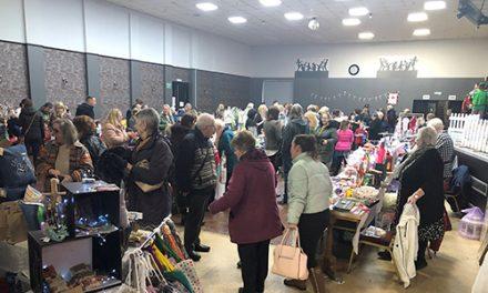 Successful Community Spirit Trade & Craft Fair