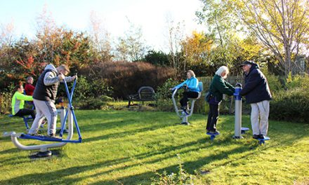 PCP Community Outdoor Gym Launched