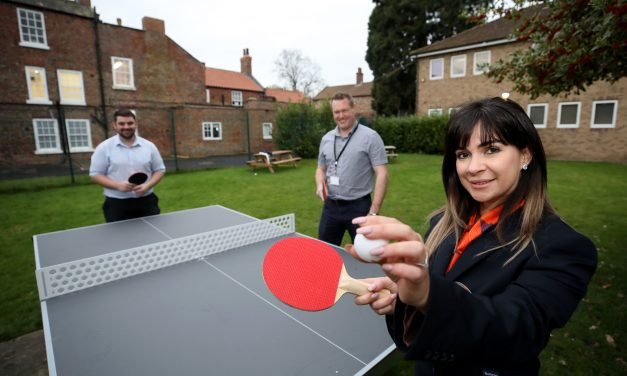 Local housebuilder's donation to broaden sports facilities scores a hit with pupils