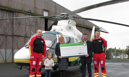 Ramsey's of Newton Aycliffe Invited to Helicopter Tour