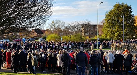 Remembrance Day Parade & Service