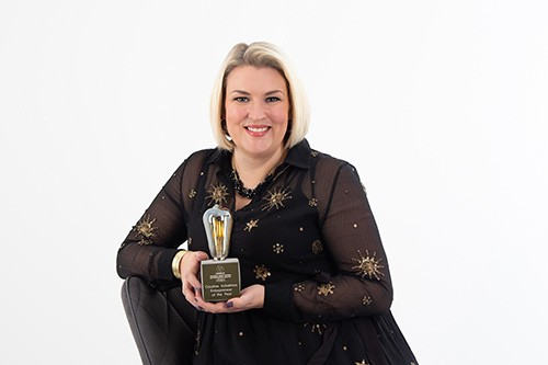 Dragon Named Entrepreneur of the Year, North East