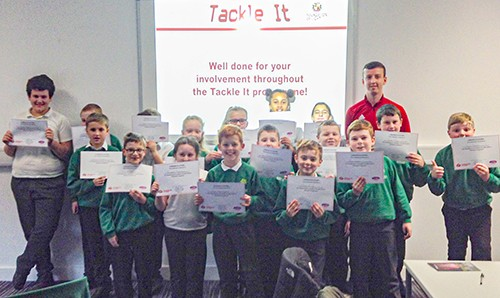 Sugar Hill Pupils 'Tackle It!'