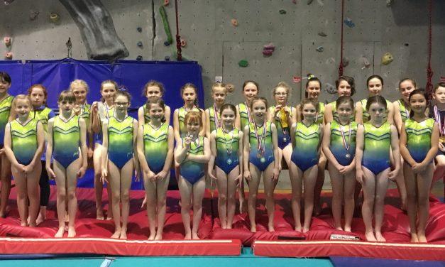 Barnard Castle Gymnasts Celebrate Medal Success