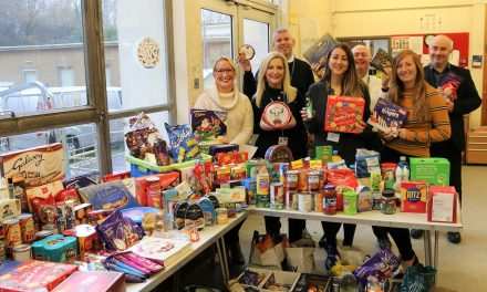 County Foodbanks Receive Xmas Gifts from the Council