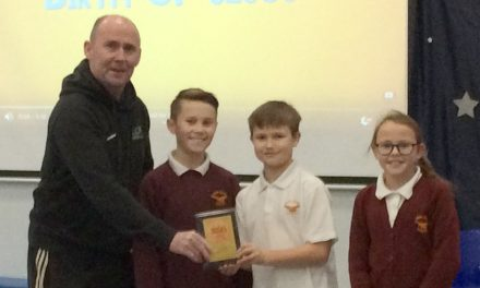 School Games Gold Award for Vane Road