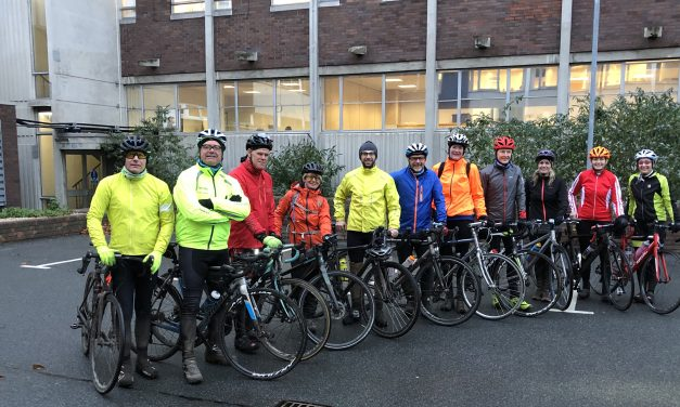 Cross County Cycle Challenge for NHS Trust's Charity