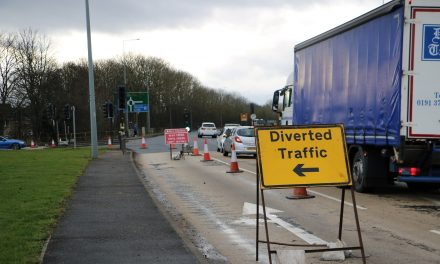 Motorists Advised of Disruption at A690 Junction