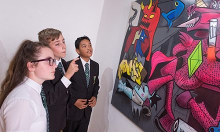 Art Students Aim High as Exams Begin