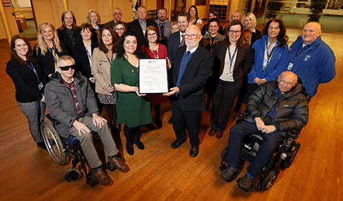 Council's Disability Support Receives Government Status