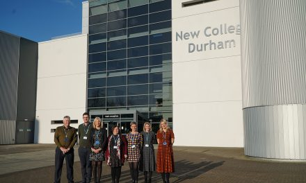 New College Durham at Tes Awards 2020