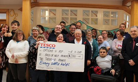 Options 'In The Money' with Tesco Bags of Help