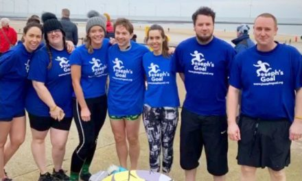 Over £3000 Raised on Boxing Day Dip