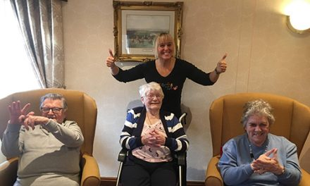 Sign & Sing at Redworth House Care Home