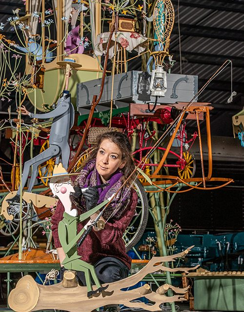 Last Mechanical Sculpture Saved for the Nation
