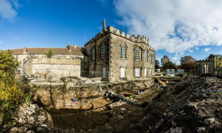 Monumental Medieval Chapel Uncovered at Bishop Auckland