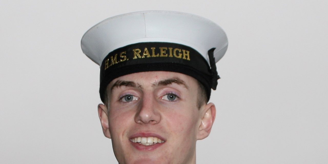 Royal Navy Recruit Heads off for First Boxing Tour