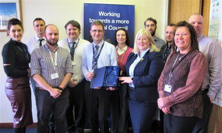 Digital Developments Win Council an Award