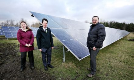Switched on and saving through solar energy