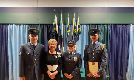Prestigious Appointment for Aycliffe Air Cadet