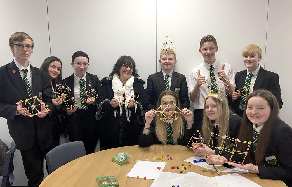 Greenfield Students Enjoy 'Mathsplosion'