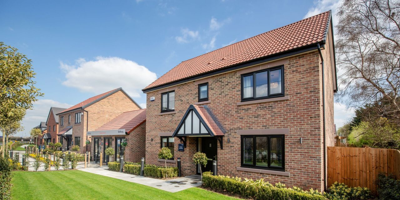 Hurworth homes development reaches construction milestone