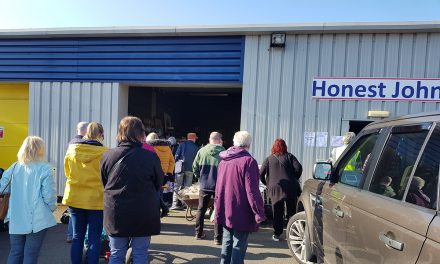 Honest John Final Sale Raised £1827