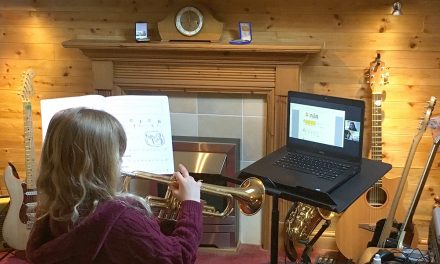 The Beat Goes On as School Music Service Moves Online