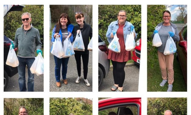 Delivering meals to local communities