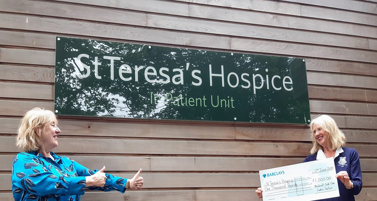 Golf Club Ladies' Section Give Hospice Appeal a Boost