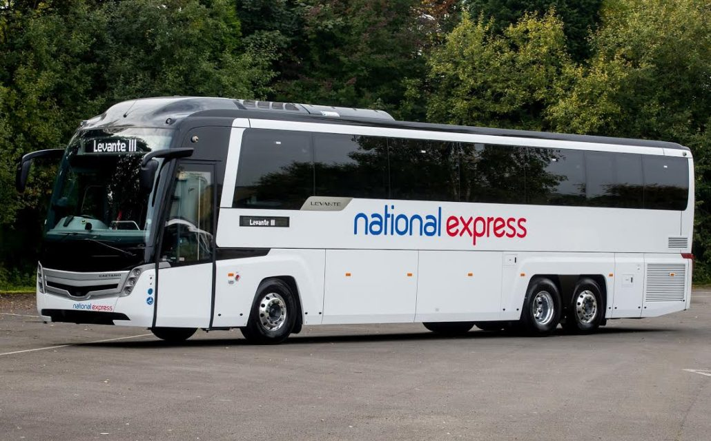 National Express Coaches Back On The Road