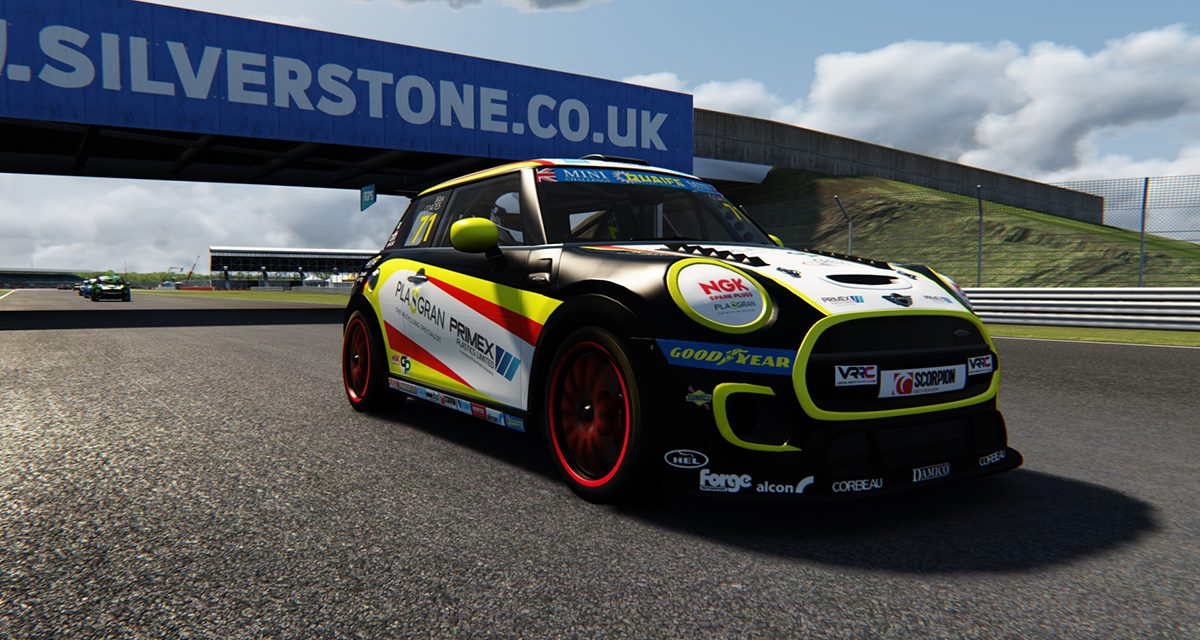 Coates up to 2nd in Mini Challenge eSeries