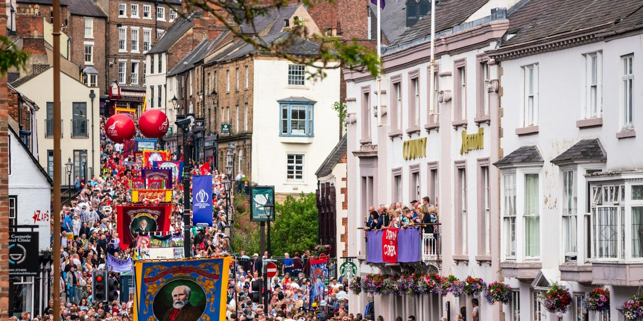 Miners' Gala Exhibition Moves Online For 136th Celebration
