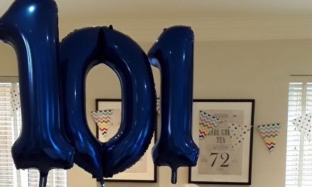 Care Home Resident Celebrates 101st Birthday