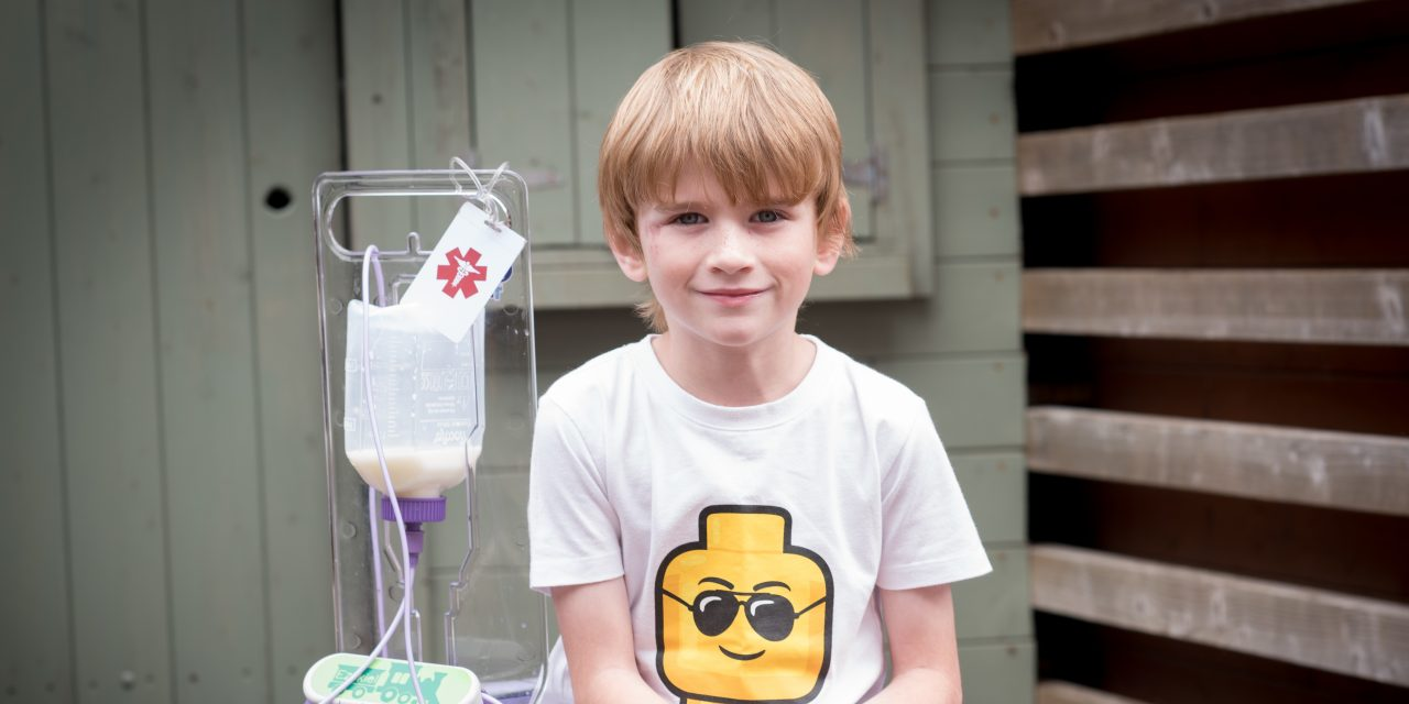 Seven year old boy from County Durham leads national tube feeding charity campaign