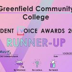 Greenfield Recognised for Student Award