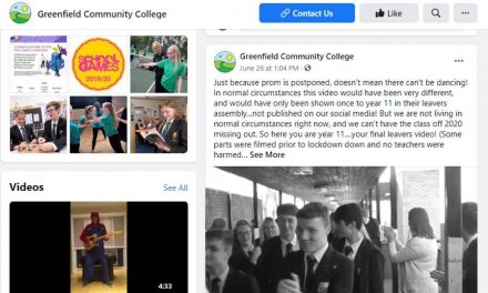Greenfield on Facebook