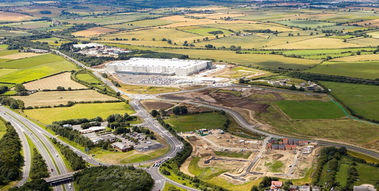 £5.5 Million Infrastructure Works Complete at Key Employment Site
