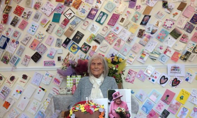 Aycliffe Angel Celebrates Turning 106