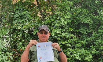 Volunteers Week Certificates Awarded