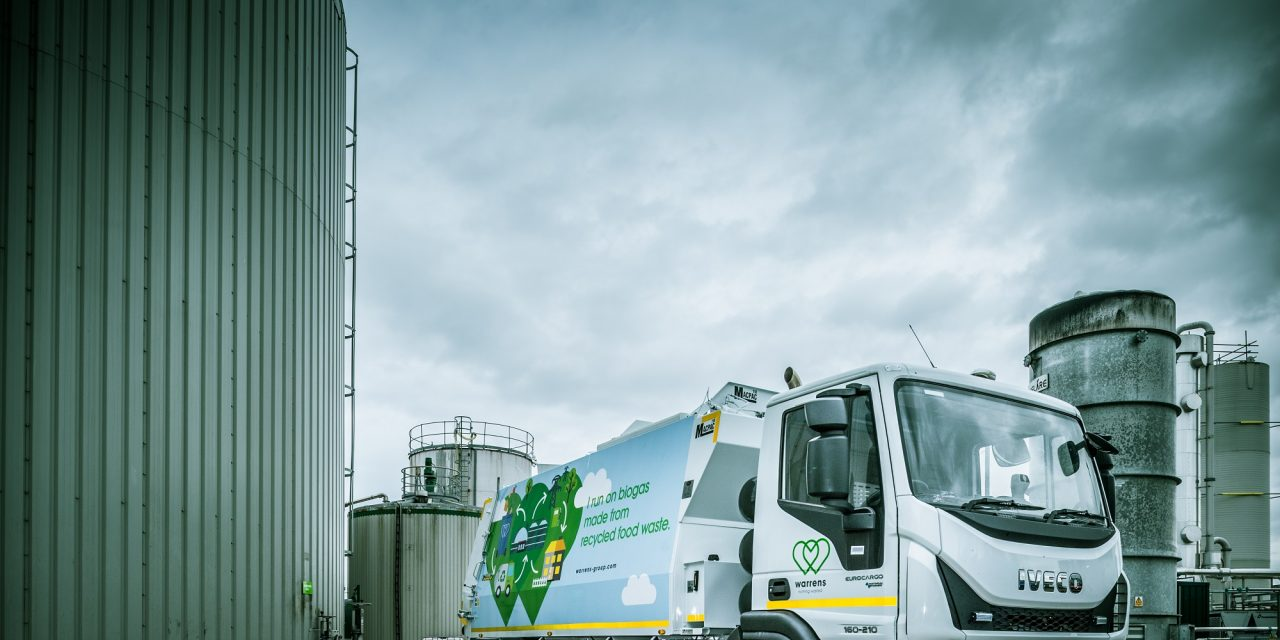 Warrens Group Shortlisted for Top Accolade in Food Waste Recycling Sector