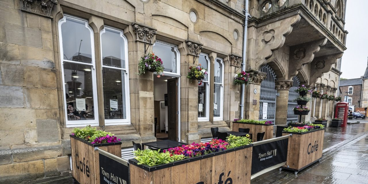New Look Café to Open at Bishop Auckland Town Hall