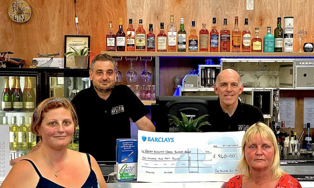 Gin Bar Supports Great Aycliffe Cancer Support Group