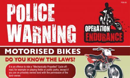 Anti-Social Behaviour and Off Road Bikes