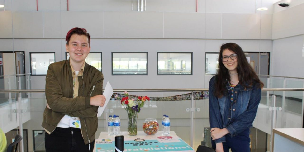 UTC South Durham Students Celebrate GCSE Results