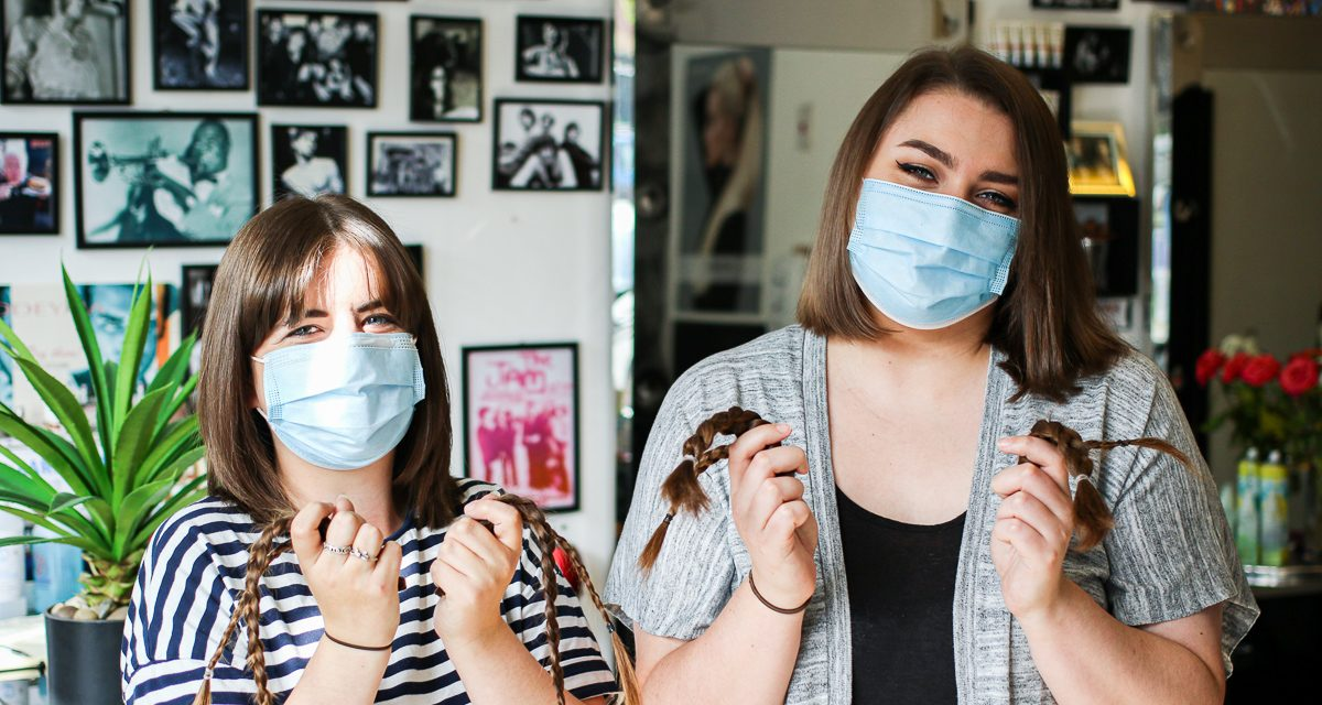 Crafters Brave the Chop for The Little Princess Trust