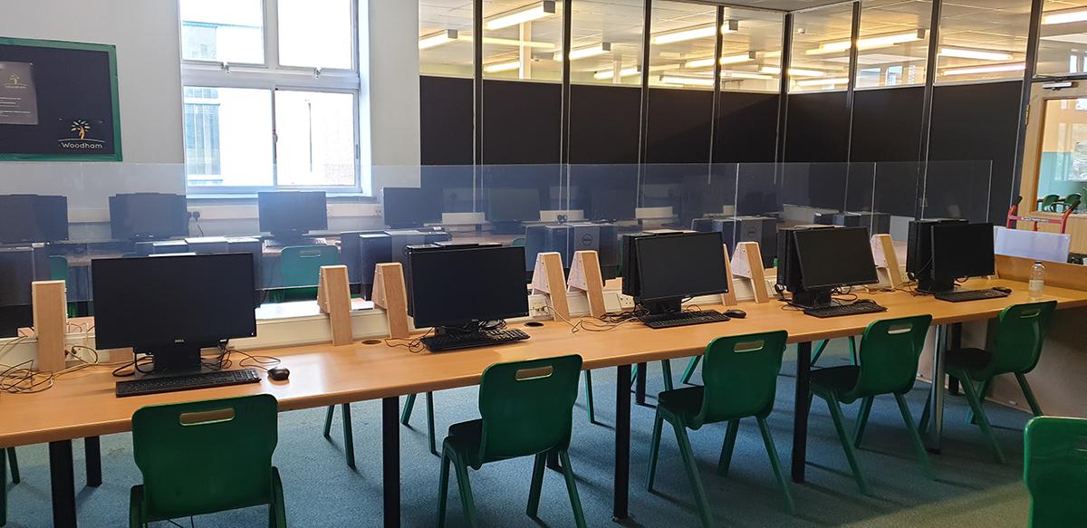 Palram Donates Safety Screens to Woodham Academy